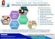 Servicios terapéuticos integrales: psicología, ocupacional, fonoaudiología