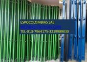 Vendo paral metÁlico para construcciÓn .espocolombia sas