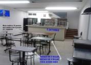 Vendo mesas grandes de madera, buen estado y mesas en acero inoxi  3-47-49-63