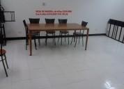 Vendo mesas grandes  madera, buen estado y mesas  acero inoxi  3--47-49-63