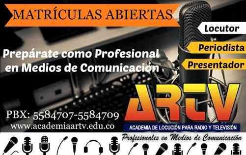 ACADEMIA DE LOCUCIÓN PARA RADIO Y TELEVISIÓN ARTV