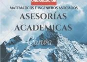 Solución de trabajos y exámenes en matemáticas, estadística, física, electricidad, electronica,
