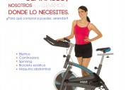 alquiler de spinning y abcoster