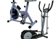 alquiler de spinning y eliptica