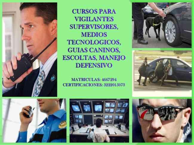 CURSOS DE VIGILACIA
