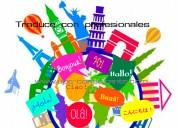 Traductores certificados / tÉcnicos en inglÉs, alemÁn, portuguÉs, italiano, francÉs, holandÉs,