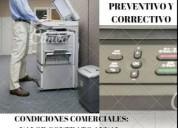 Servicio tecnico para equipos de fotocopiado e impresion
