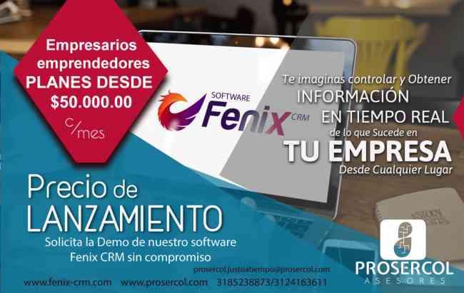 BUSCAS SOFTWARE PYME FENIX CRM/ERP TU SOLUCION