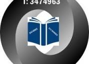 Reviso bocetos de libros, tesis, monografias;  hago discursos, ensayos, articulos, etc 3-47-49-63