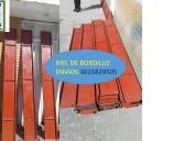 Somos fabricantes de riel  para sardinel  metalico