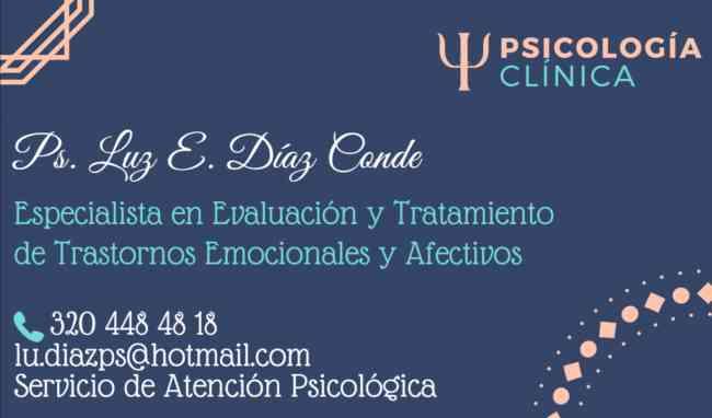 SERVICIO DE PSICOLOGÍA CLÍNICA PARTICULAR