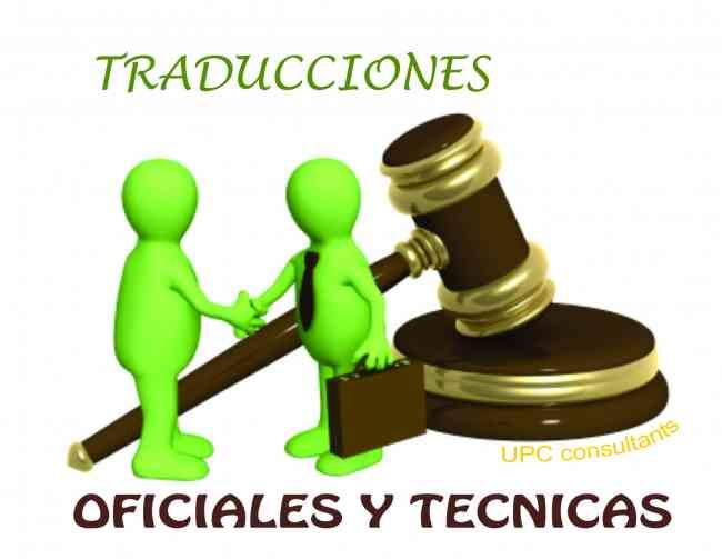 TRADUCTORES EN 8 IDIOMAS OFICIALES Y TÉCNICOS EN EL 3113050553!!!