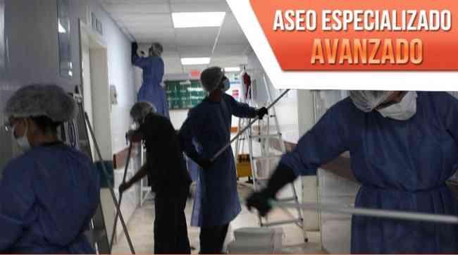 Curso de Aseo básico hospitalario en Medellin