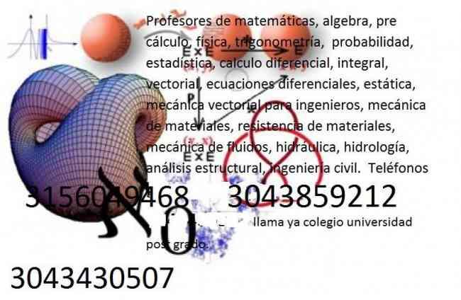 3043859212 clases particulares de algebra en cota