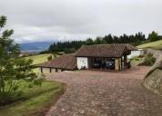 Casa colonial en venta en chia chia