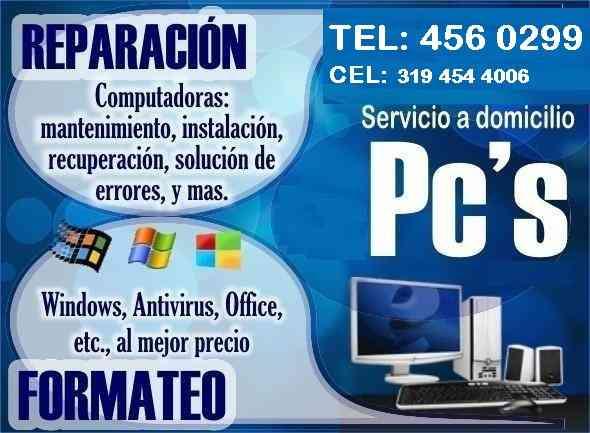 REPARACIÓN DE COMPUTADORES EN BELLO ANTIOQUIA TEL: 4560299