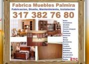 muebles hogar, oficina, madera, palmira, cali, closets, comedores, salas, camas, juego de alcoba