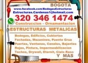 Estructuras metalicas, construccion, ornamentacion, techos, drywall, pintores, albañiles,