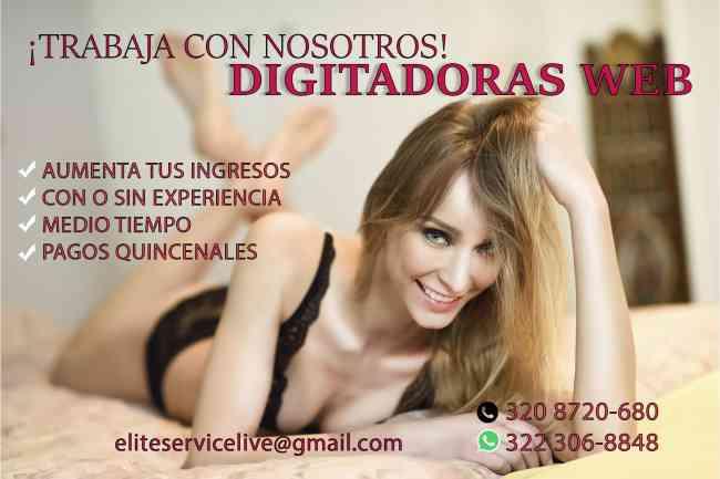 Solicito webcam chicas para estudio
