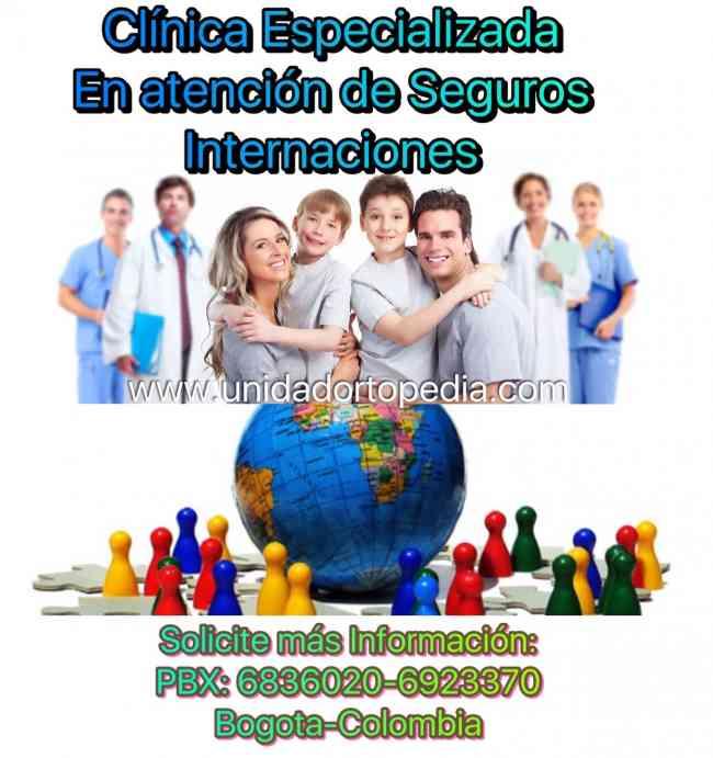 Atención Prioritaria a Extranjeros en Ortopedia y Traumatologia Bogota