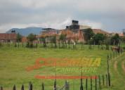 Para la venta excelente terreno colindando con el perímetro urbano de cogua extensión de 5800 mts2