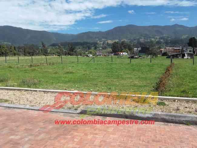 Para la venta lote en Cogua lote suburbano de 500 mts2
