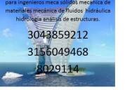 3043859212 profesores de estatica en cota analisis estrctural