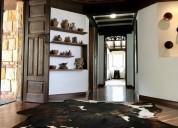 casa en venta en chia. ideal para el turismo. estrato 6
