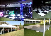 Alquiler salas lounge pistas de baile en medellin