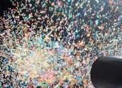 Explosion de confeti venturi en medellin