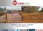 Replanteos o localizaciÓn de proyectos en obra y terrenos rurales