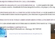 Seminario nueva medicina 5lb / comunicaciÓn estratÉgica