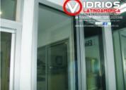 Divisiones en vidrio templado bogota ventaneria en aluminio