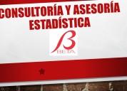 Consultoria y asesoria estadística