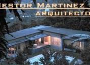 Servicios profesionales como arquitecto en diseño, gestión y construcción de proyectos.