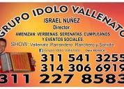Grupo idolo vallenato 3112278583 uitama