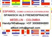 Spanisch als fremdsprache in medellin