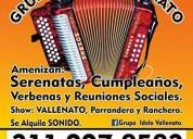 Grupo idolo vallenato. 3143066919