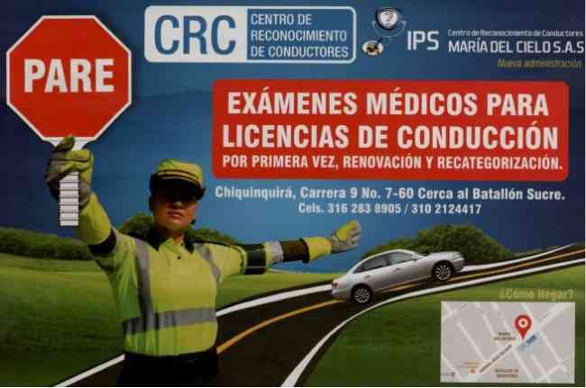 EXAMENEN MEDICOS PARA LICENCIA DE CONDUCCION