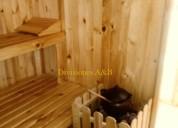 Saunas en variedad de diseños