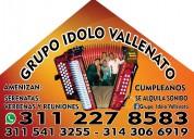 Grupo vallenato. duitama. 3112278683