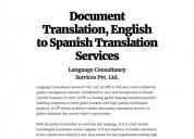Traducción inglés español  de documentos y archivos