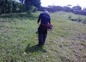 Aseo general  mantenimiento corte de prado