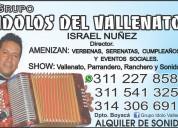 Grupo vallenato duitama. 3112278583