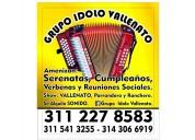 Grupo vallenato. 3112278583 sogamoso, duitama.
