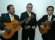 Trio bogota, serenatas, musica de cuerda, boleros, tangos, pasillos y mas