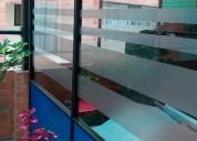 Peliculas y decorativos para vidrios