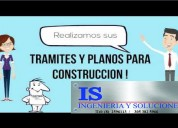 Tramites y planos para construcciÓn