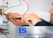 Montajes elÉctricos,mantenimiento de redes