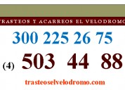Trasteos y acarreos en itagüi baratos 3002252675